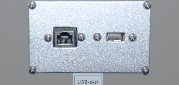 Plug and play USB2.0 transmission