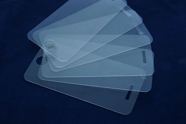 Mobile phone toughened membrane laser cutting