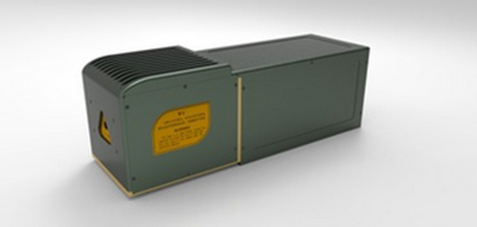 Imported tri-axial dynamic galvo scanner