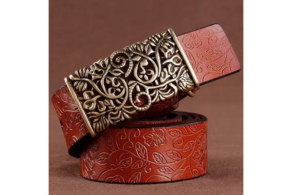 leather belt engraving