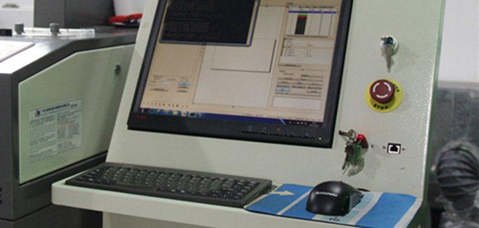 Independent computer controlling desk