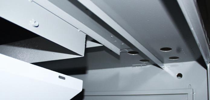 universal laser cutting machine--Reinforced welding lathe bed