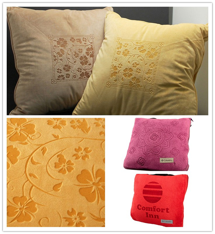 fabric pillow laser marking
