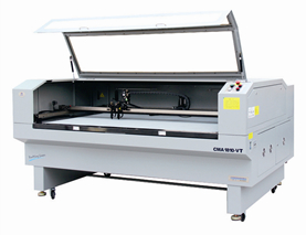 CMA1610-VT camera positioning two heads cutting machine