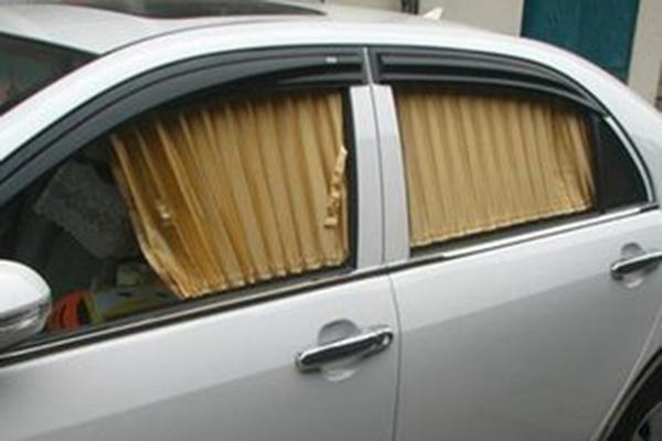 laser cutting Sun-blinds adapted for automobiles